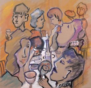 host dinner party